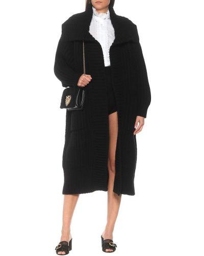 Kaszmir czarny szorty Dolce And Gabbana