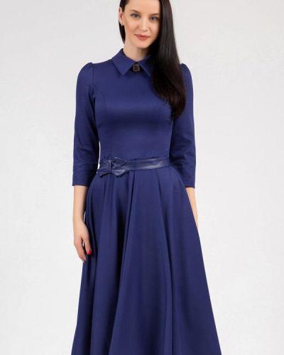 Платье - синее Grey Cat