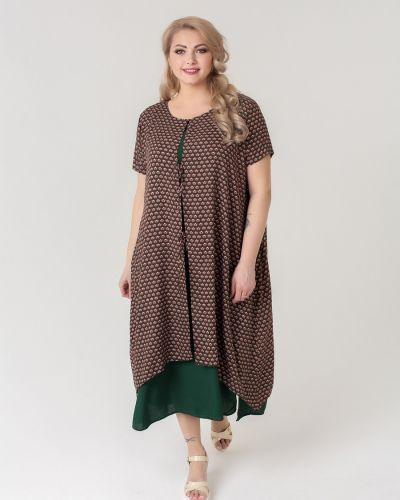 Вечернее платье летнее миди Sparada
