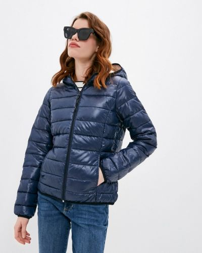 Утепленная синяя куртка Q/s Designed By