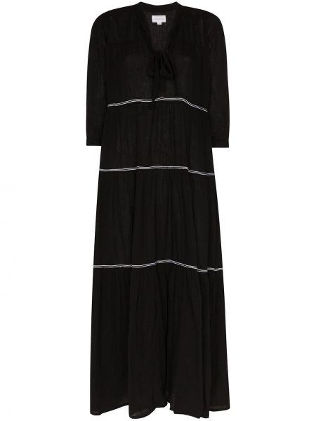 Sukienka mini ciepły czarny Honorine