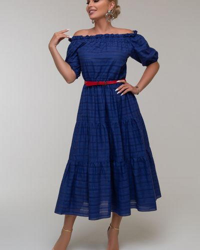 Платье с открытыми плечами Петербургский Швейный Дом