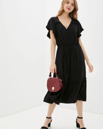 Повседневное черное платье Gap