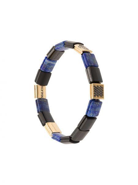 Черный с ониксом браслет Nialaya Jewelry