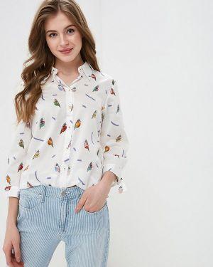 Рубашка с длинным рукавом белая португальская Madeleine