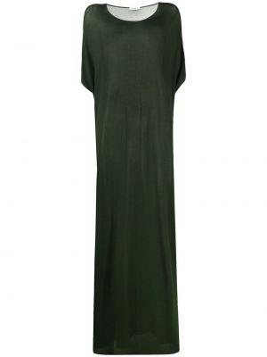 Зеленое платье мини с вырезом из вискозы P.a.r.o.s.h.