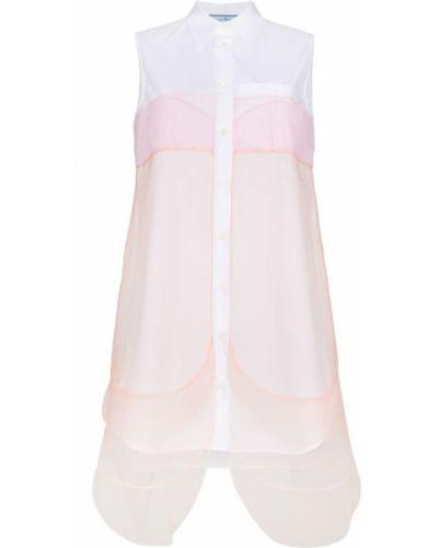 Платье платье-рубашка без рукавов Prada