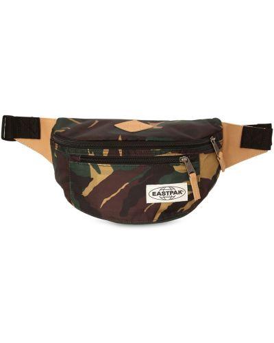 Кожаная сумка поясная нейлоновая Eastpak
