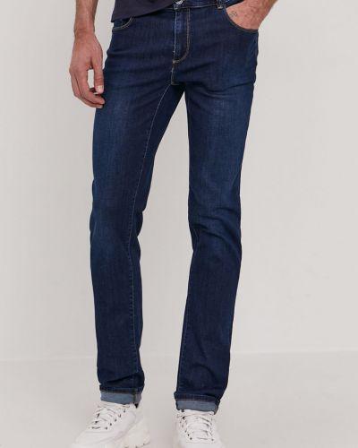 Niebieskie jeansy bawełniane Trussardi Jeans