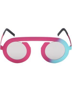 Różowe okulary srebrne Blackfin
