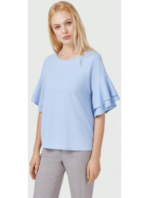 Блузка - голубая Pompa