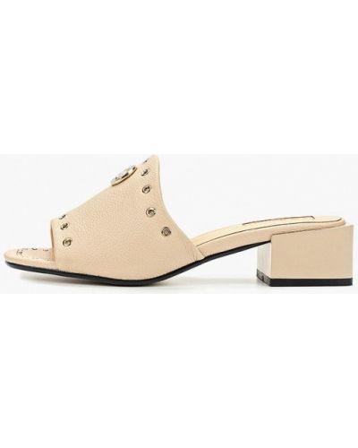 Сабо на каблуке кожаные Inario