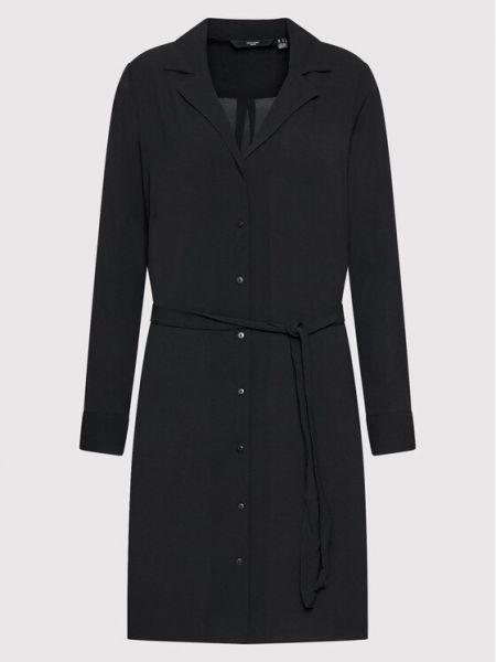 Czarna sukienka Vero Moda Curve