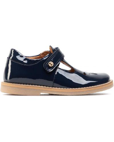 Туфли на липучках - синие Froddo