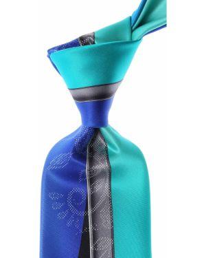 Brązowy krawat z jedwabiu Pancaldi