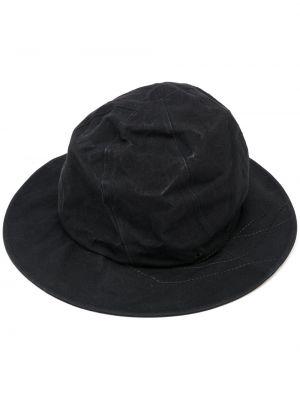 Czarny kapelusz bawełniany Ys