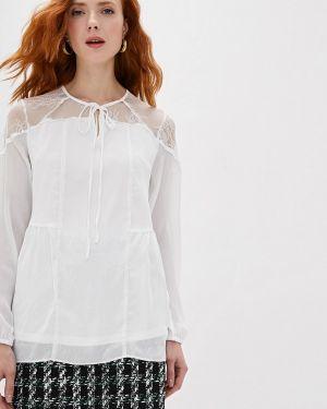 Блузка с длинным рукавом белая With&out