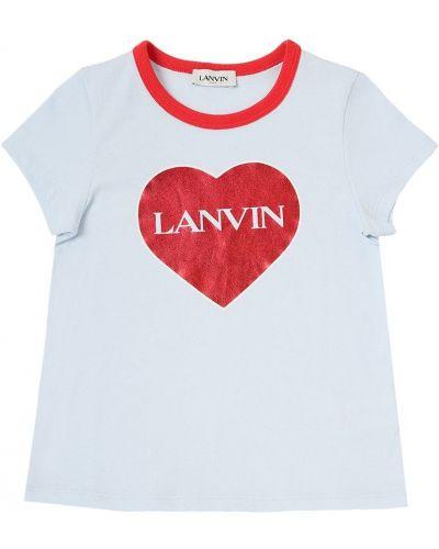 Лонгслив - синяя Lanvin
