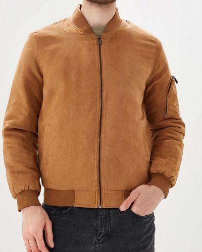 Коричневая утепленная куртка Mezaguz