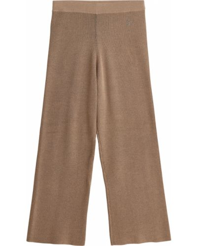 Beżowe spodnie boho By Malene Birger