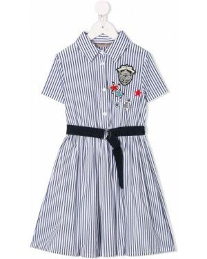 Платье с рукавами на пуговицах Ermanno Scervino Junior