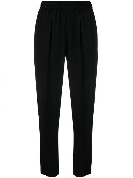 Черные брюки с поясом из вискозы A.p.c.