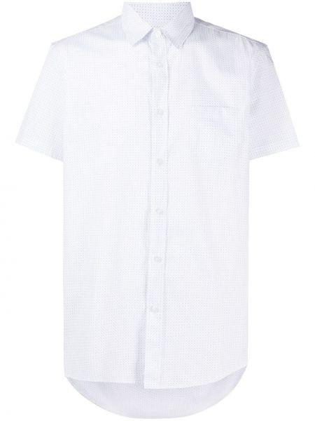 Koszula krótkie z krótkim rękawem klasyczna z nadrukiem Grey Daniele Alessandrini
