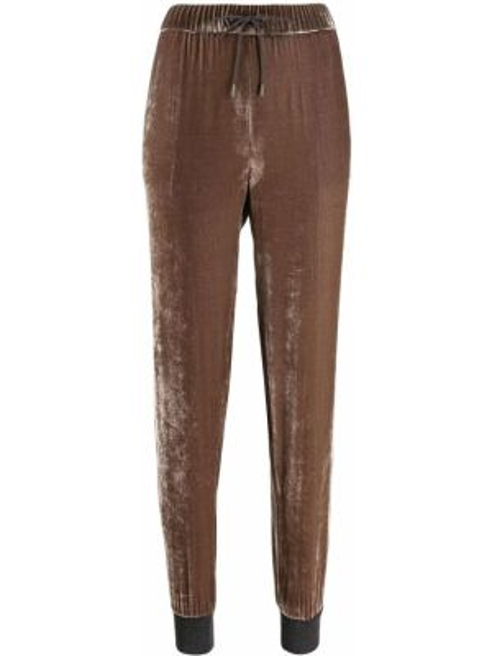 Велюровые брюки Fabiana Filippi