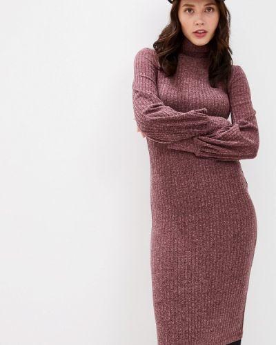 Платье - красное Vivostyle