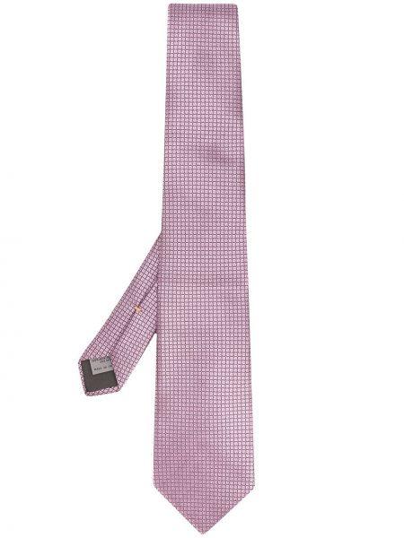 Розовый галстук Canali