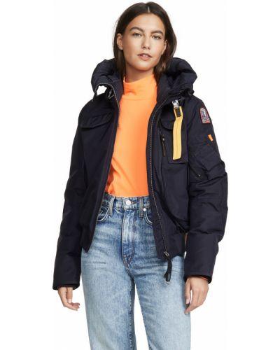 Базовая пуховая длинная куртка с вышивкой Parajumpers