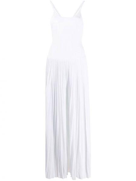 Sukienka z paskiem plisowana Alexandre Vauthier