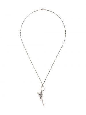 Naszyjnik srebrny Yohji Yamamoto