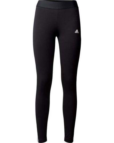 Czarne spodnie bawełniane Adidas Performance