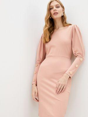 Платье футляр - розовое Moki