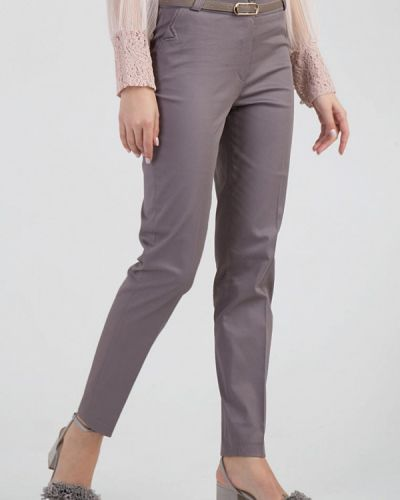 Классические брюки серые весенний Das