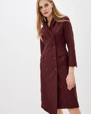 Платье бордовый платье-пиджак Buono