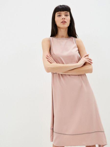 Прямое розовое платье Savage