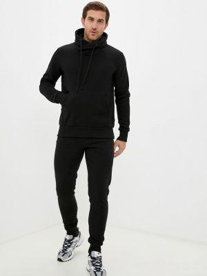 Черный спортивный спортивный костюм Ko'msi