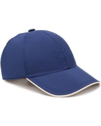 Бейсболка с подкладкой синий Loro Piana