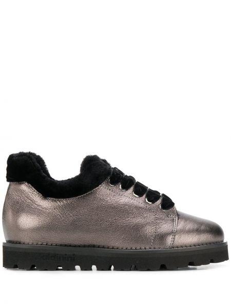 Wysoki buty ażurowy kołatka Baldinini