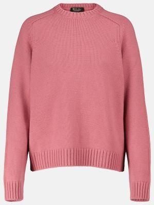 Кашемировый свитер - розовый Loro Piana