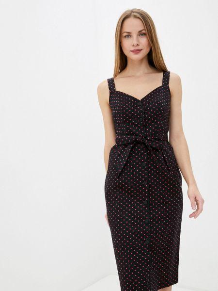 Черное платье Solou
