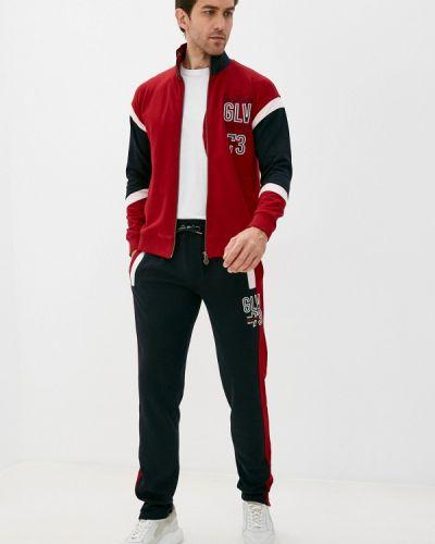 Костюмный красный спортивный костюм Galvanni