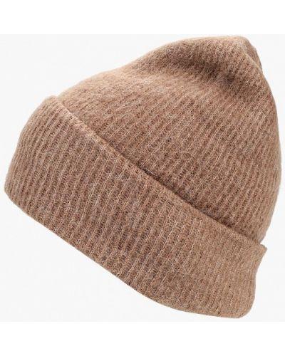 Бежевая шапка осенняя Pieces
