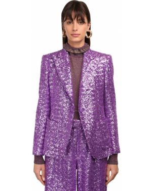 Куртка с накладными карманами - фиолетовая Marc Jacobs