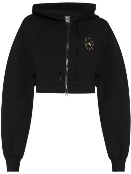 Czarna bluza oversize Adidas By Stella Mccartney
