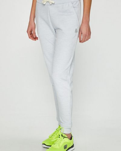 Спортивные брюки на резинке с карманами Reebok