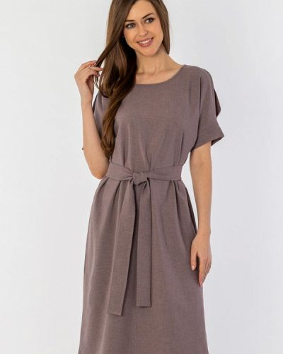 Платье миди фиолетовый S&a Style