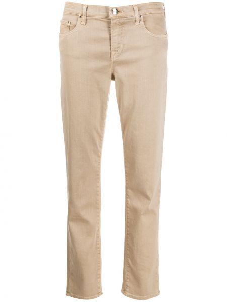 Прямые джинсы свободные на пуговицах Jacob Cohen